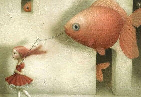 menina-peixe