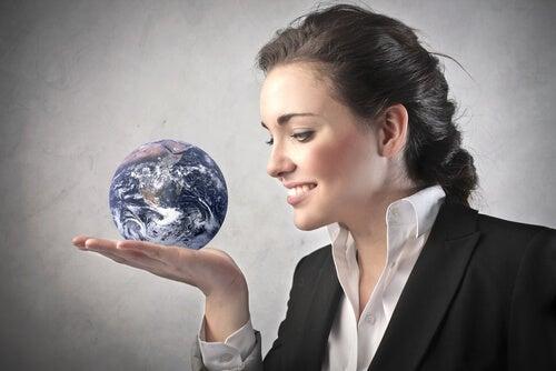 mulher comanda o mundo