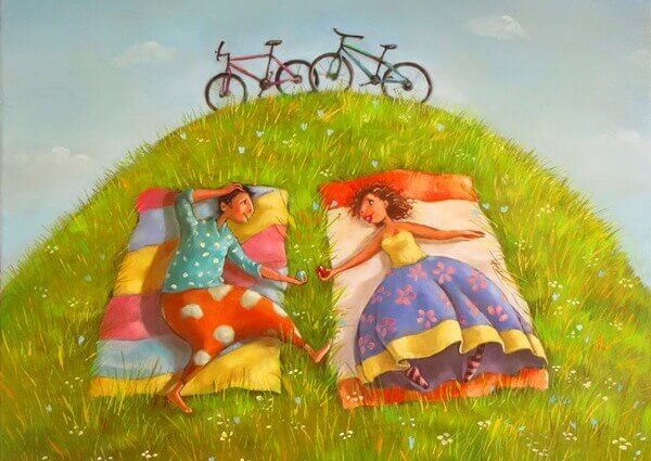 amigas-passeio-bicicleta