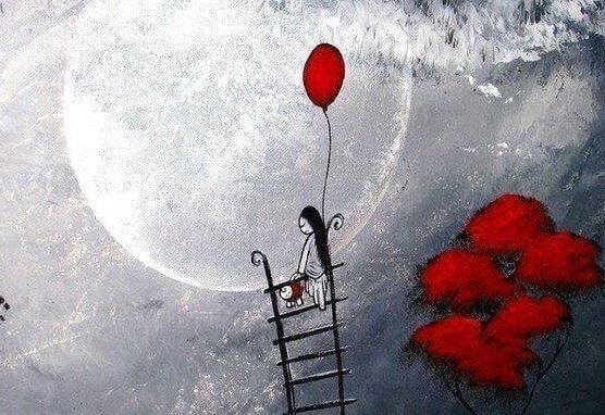 lua-balao-vermelho