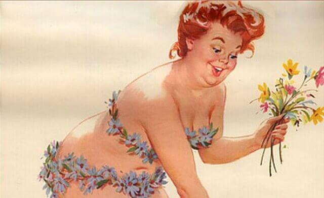 mulher-colhendo-flores