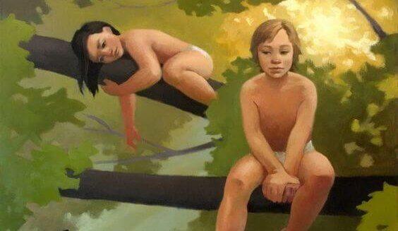 criancas-floresta