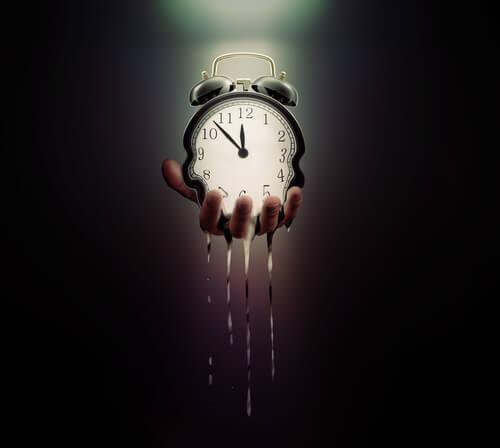 tempo curto durante o dia