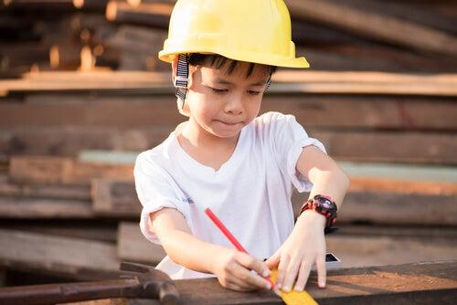 quando o trabalho desperta na criança
