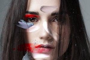 mulher-pintura-rosto