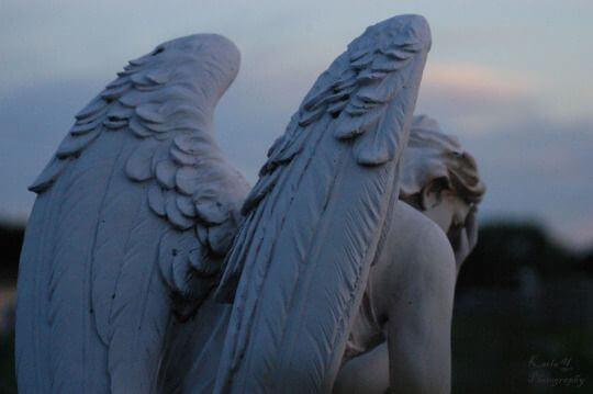 anjo-de-pedra