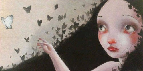 menina-com-medo-borboletas