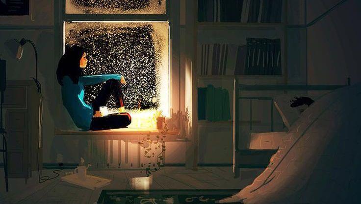 jovem-preocupada-olhando-janela-a-noite