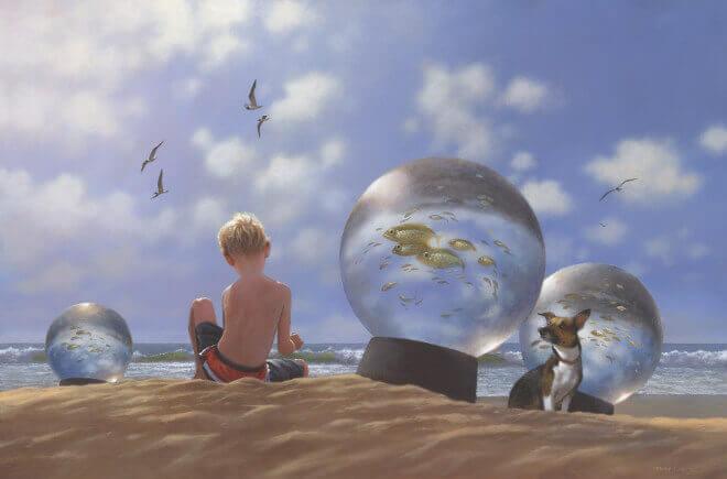 menino-com-cachorro-na-praia