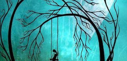 mulher-balanco-floresta