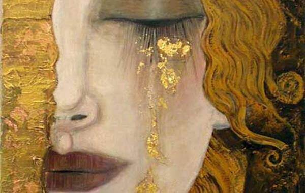 Chorar lágrimas de ouro