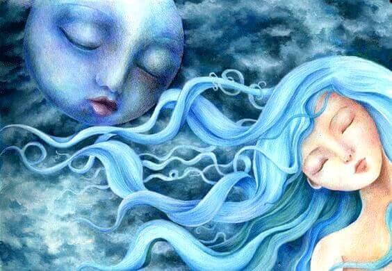 Fases da mulher e fases da Lua