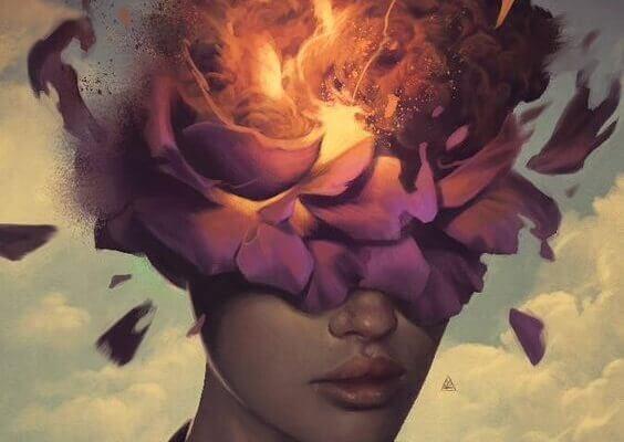 mulher-cabeca-em-chamas