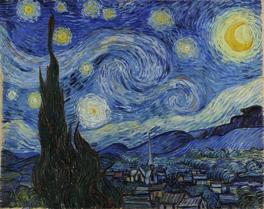 A arte de Van Gogh