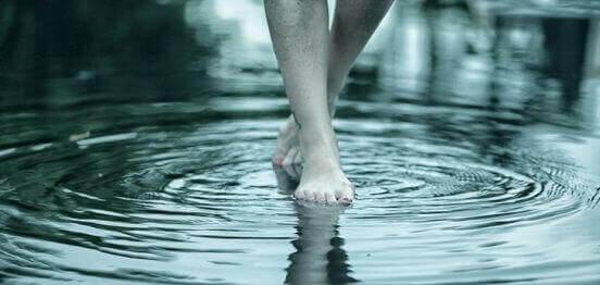 Caminhar na água