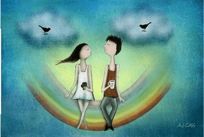 Relação amorosa em que ninguém tenta controlar