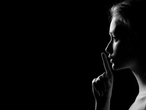 O silêncio traz todas as respostas