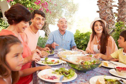 Almoço em família