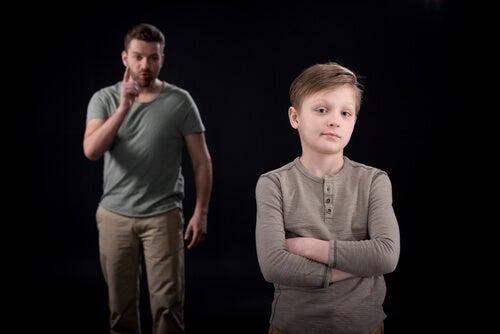indiferentes com a família