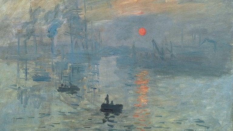 Barcos em pintura