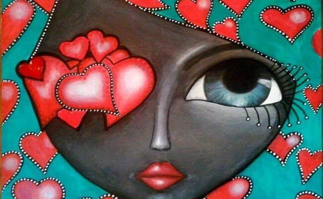 Mesmo que feche os olhos, você vai sentir com o coração