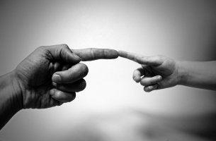 Os gestos podem representar um mundo de coisas