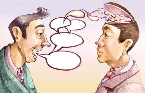Conversar com um ignorante