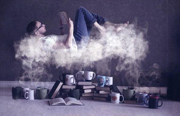 A leitura nos faz flutuar