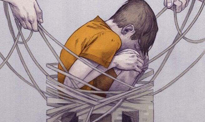 Aplicar castigos físicos em crianças é um erro