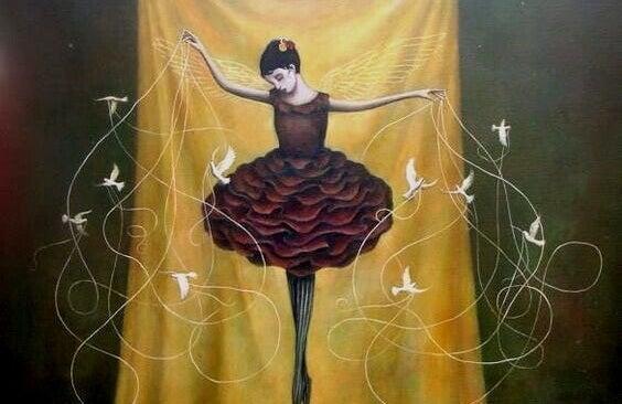 Bailarina de sucesso