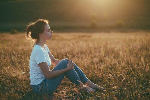 De vez em quando é necessário praticar a arte de se isolar
