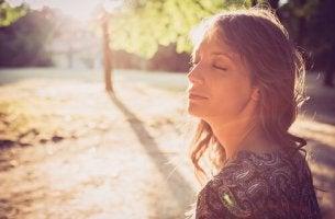 O relaxamento das mulheres com câncer de mama
