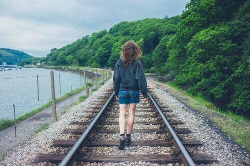 Tomara que perder um trem não o impeça de pegar os próximos