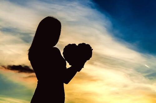 Carrego comigo o verdadeiro significado do amor