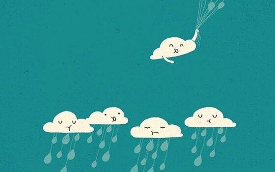 A atitude otimista contagia