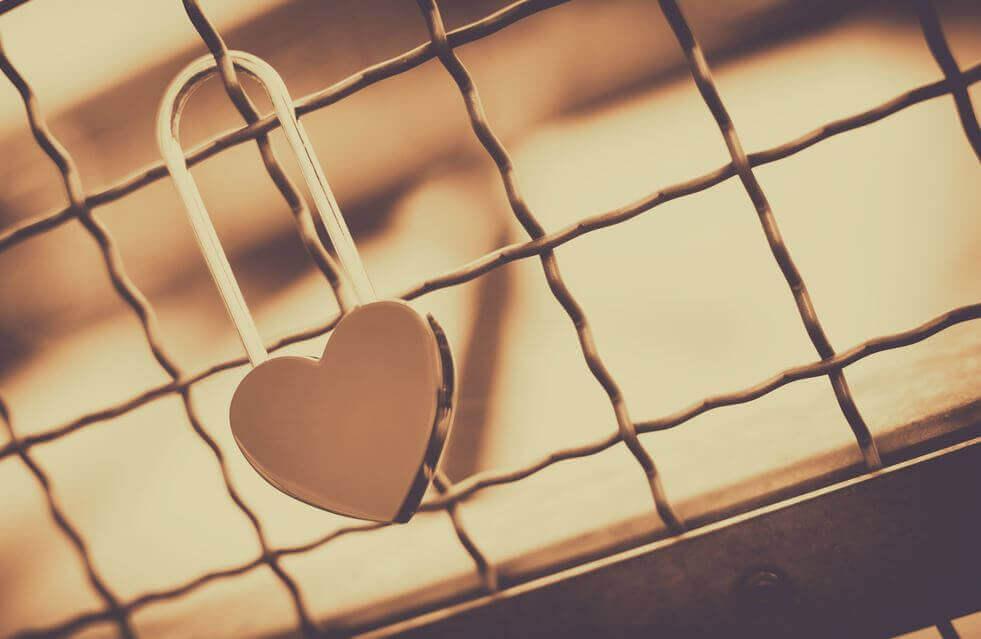 Cadeado de coração