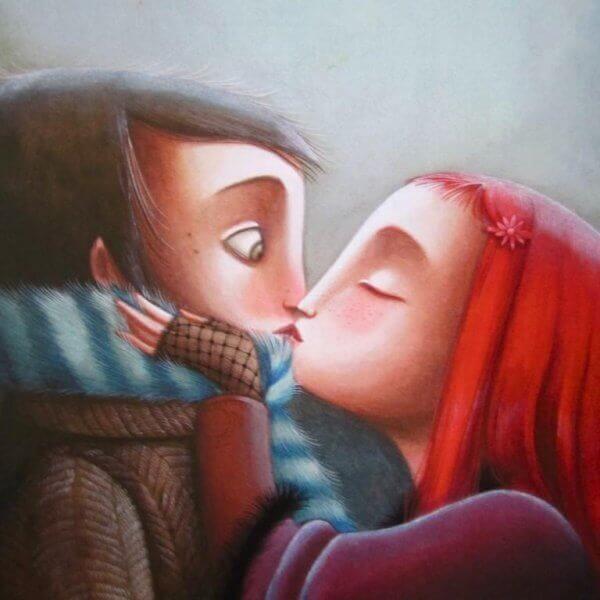 Casal que tolera os defeitos e exalta o amor
