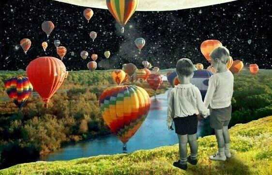 Fomentar os sonhos das crianças