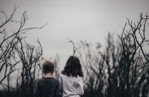 Crianças com depressão