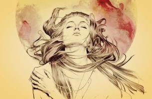 Mulher refletindo sobre o que significa ser corajoso