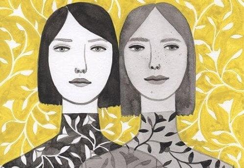 Mulheres idênticas
