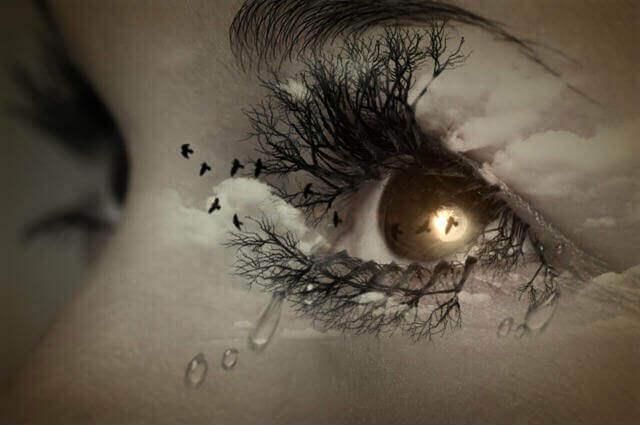 Chorar a morte de uma pessoa querida
