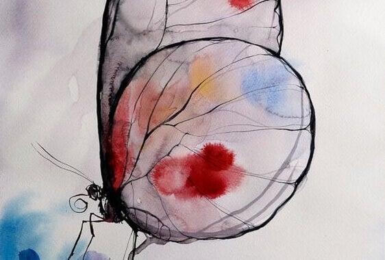 Pintura de borboleta