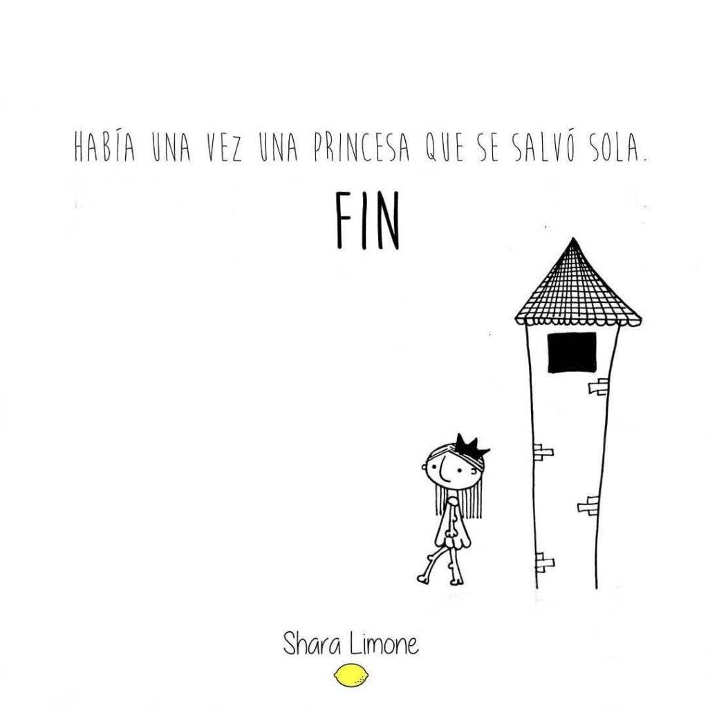 Era uma vez uma princesa que se salvou sozinha