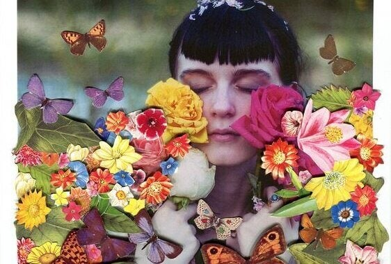 A vida é linda e colorida