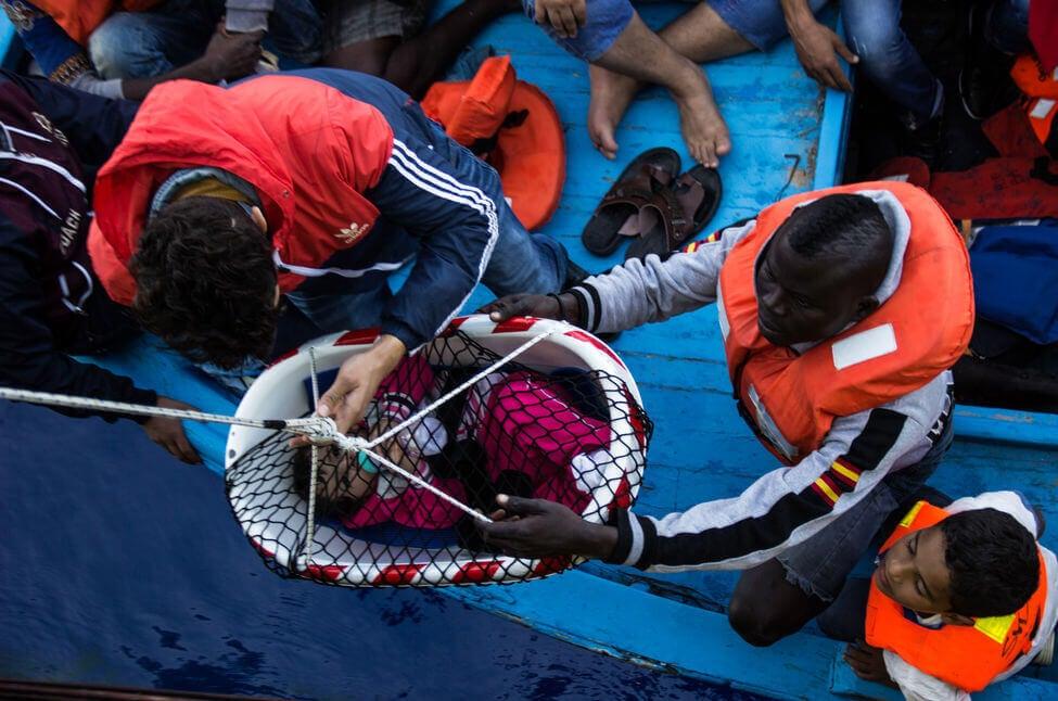 O drama dos refugiados que cruzam os mares