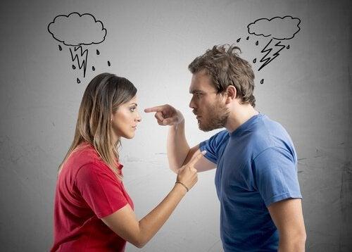 Agressões verbais no relacionamento