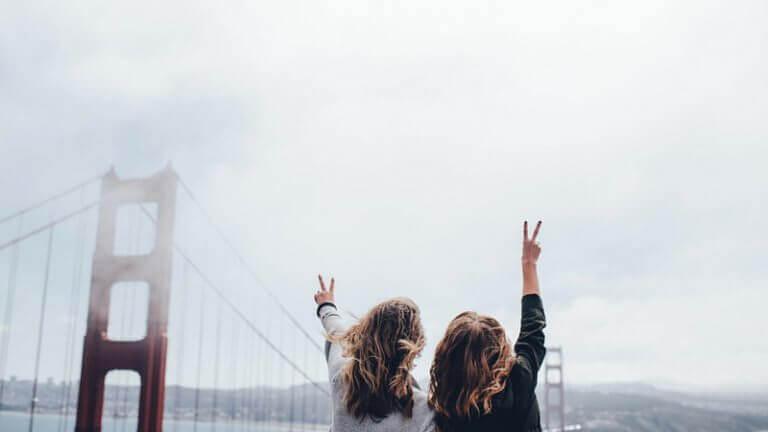 Amigas e companheiras de viagem