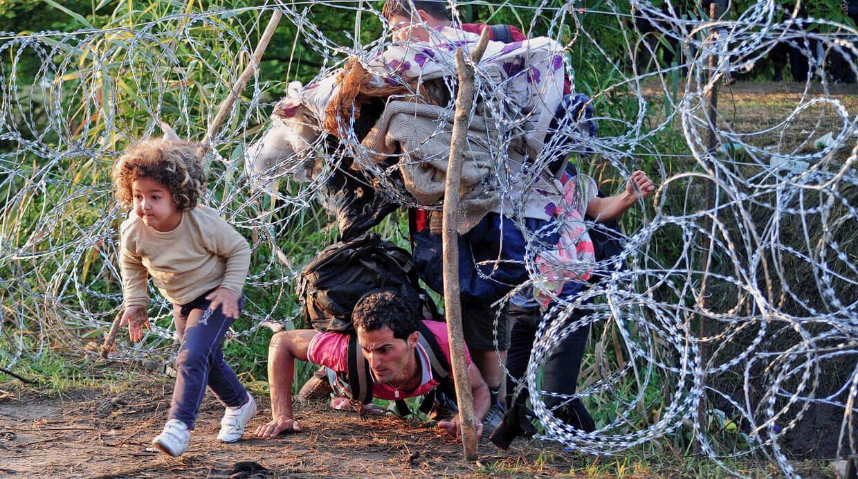 O drama dos refugiados em busca de uma vida digna