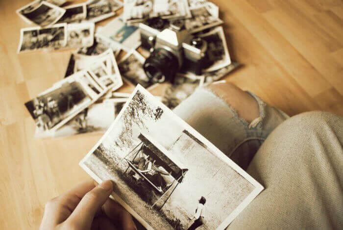 As fotos são belas lembranças